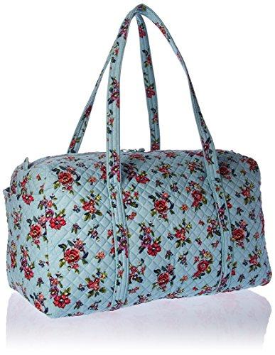 51u9m8vQ6xL - Vera Bradley Iconic Large Travel Duffel, Signature Cotton, Water Bouquet, water bouquet, One Size