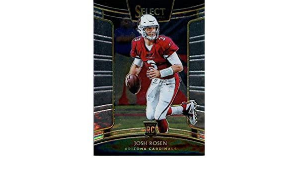 2b5ba3e21c9 Amazon.com: 2018 Select Football #62 Josh Rosen Arizona Cardinals Concourse  RC Rookie Card Official NFL Trading Card From Panini: Collectibles & Fine  Art
