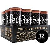 Peet's True Iced Espresso, Mocha Chocolate, 8 Ounce Can (12 Count) Single-Origin Colombian Espresso with Dutch Process Cocoa & rBST- Free Milk, 130 Calories