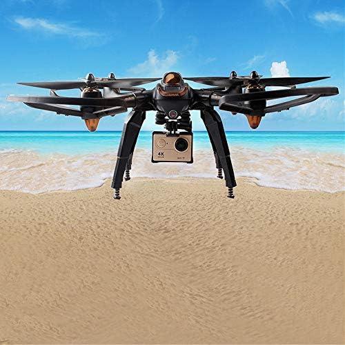 XUSUYUNCHUANG Mise à Niveau Train d'atterrissage Printemps caméra Skid Support de Montage Blad Garde Accessoires for Hubsan H501S X4 FPV RC Drone Quadcopter Pièces de Rechange Drone Accessoires