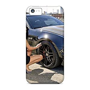 New Fashion Premium Tpu Case Cover For Iphone 5c - Mustang