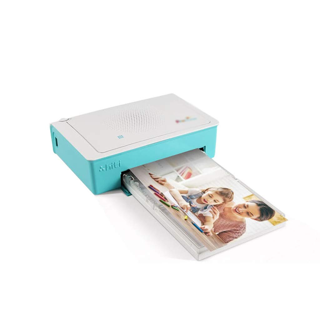 Outdoor Travel Exclusive Portable Mini Photo Printer Wireless Bluetooth Printers Support Smartphone Color Printing by Zyj-Photo printer