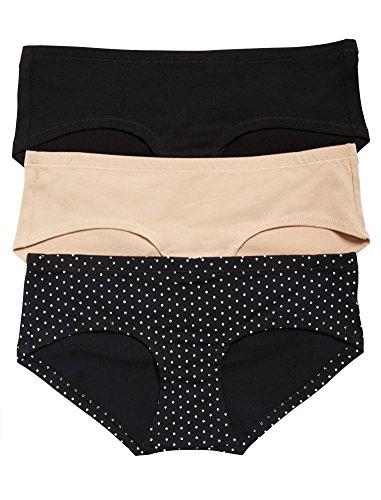Maternity Spandex Panties (Motherhood Maternity Hipster Panties (3 Pack))