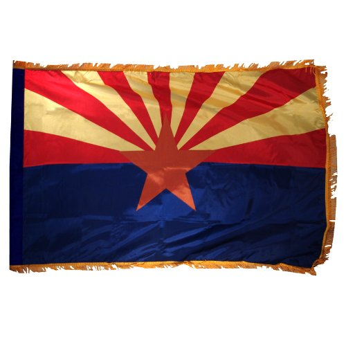 Arizona US State Flag - 3 foot by 5 foot Polyester ()