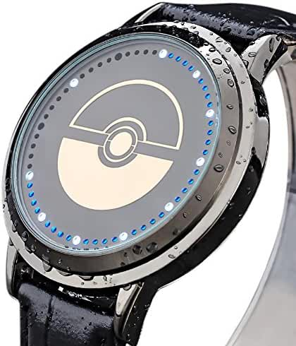 Wildforlife Anime Pokemon Poke Ball Touch LED Watch