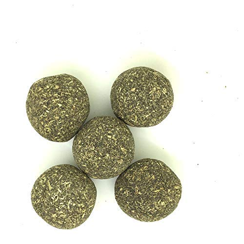 Catnip Toys Ball for Cats by Shelltech, Compressed Catnip Toy Balls Edible Cat Treats Playing Relaxing Catnip Toys 1.3 Inch Diameter 5 -