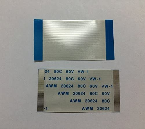 Yootop 20Pcs FFC FPC AWM Flexible Flat Calbe 1.0 mm Pitch 22 Pin 200mm Length A Type
