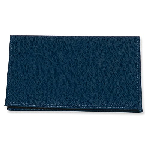 Blue Embossed PVC Passport Folder