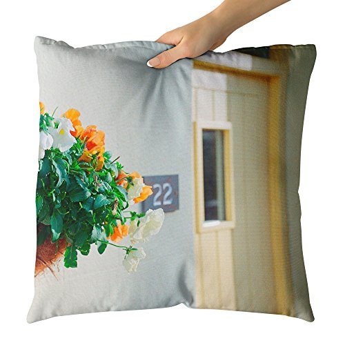 Plant Ind Food (Westlake Art - Cut Quaint - Decorative Throw Pillow Cushion - Picture Photography Artwork Home Decor Living Room - 18x18 Inch (9186C))