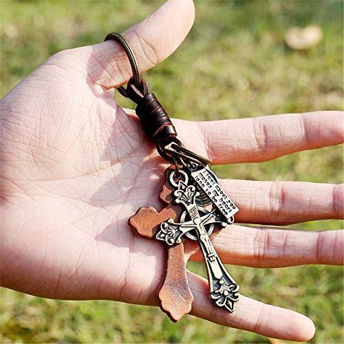 女性のキーホルダー 繊細な合金キーチェーンキーチェーン金属キーチェーン用車のキー男の子女の子男性女性復元古代の方法は編まれた男性 妻、彼女、プレゼント