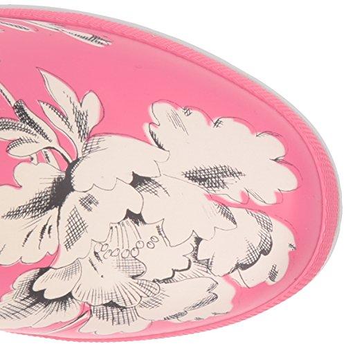 Joules Frauen Welly Print Regen Boot Wahres rosa Blumen