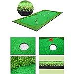 Conveniente-Golf-Portatile-Putting-Mat-Golf-Simulazione-Green-Putt-Trainer-Golf-Verdi-Artificiali-Putt-Indoor-Mat-Training-Practice-Aid-Verde