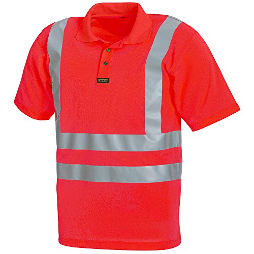 Blakläder 331010095500x L High Schrauben Hemd Polo Klasse 3Größe XL Rot