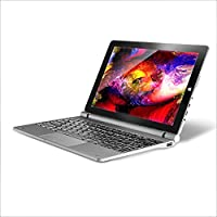 AWOW SimpleBook 10 Windows 10 2 in 1 Cheap Gaming Laptop Tablet, 10.1, Gray Black