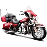 2013 Harley FLHTK Davidson Electra Glide Ultra Limited Red Bike Motorcycle 1/12 by Maisto 32323