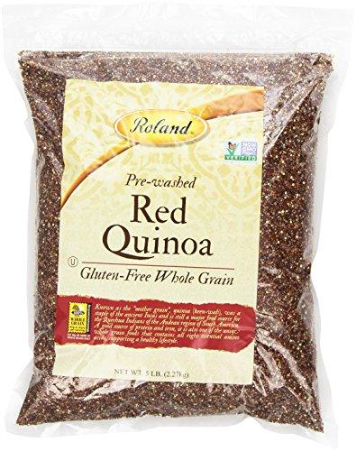 Roland Quinoa, Red, 5 Pound