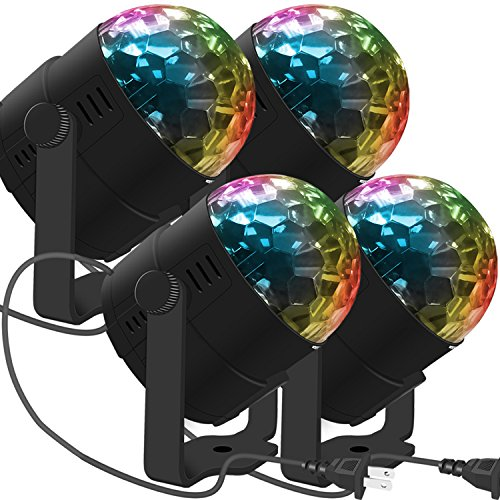 LED Stage Party Lighting, Costech 7 Color Changing