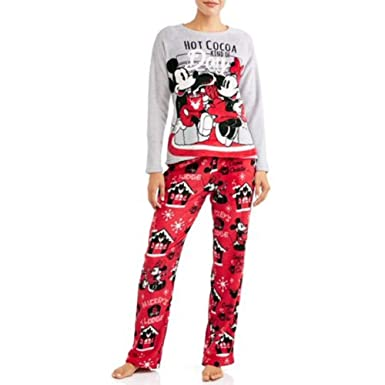 87c592eca99 Disney Minnie Mickey Mouse Women s and Women s Plus Pajama Set at ...