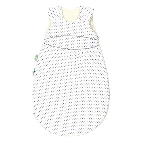 Odenwälder 1418 BabyNest Klimasoft Tencel-Schlafsa Mini Star Silber 60