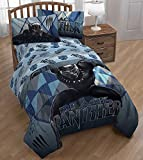 Marvel Black Panther Microfiber Sheet Set - Twin