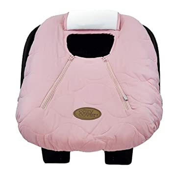 Cozy Cover Infant Car Seat Pink Quilt
