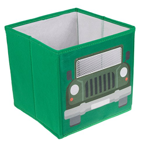 Green Army Truck Collapsible Storage Box and Closet Organizer (Storage Box Ocean)