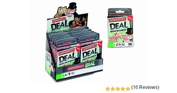 Hasbro 640190 - M.B. Juegos Cartas Monopoly: Amazon.es: Juguetes y juegos