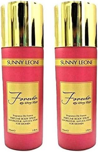 SUNNY LEONE Forever PERFUME SPRAY PARA MUJER - 150 ml (Pack de 2): Amazon.es: Belleza