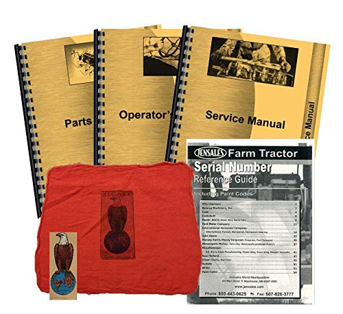 Case SC w/Eagle Hitch Deluxe Tractor Manual Kit