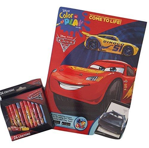 買取ピクサー映画カーズ3のカラーアンドプレイ塗り絵