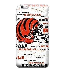 iPhone 6 Cases, NFL - Cincinnati Bengals - Blast - iPhone 6 Cases - High Quality PC Case