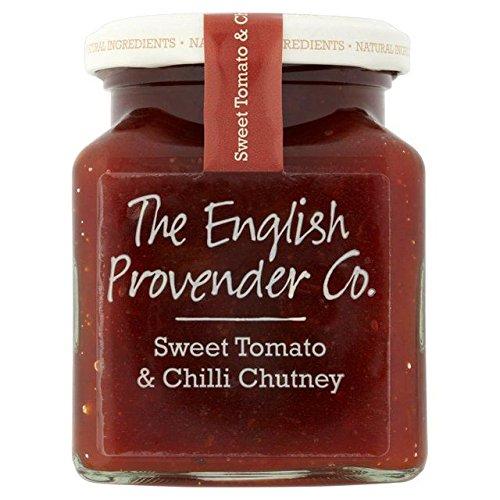 Tomato Chutney - English Provender Co Sweet Tomato & Chilli Chutney - 325g