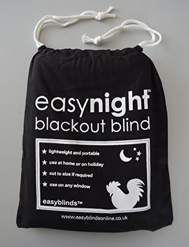 "Easynight Portable Travel Blackout Blind (XXL 119"" x 57"")"