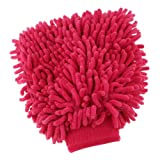Lx10tqy Eco-Friendly Colorful Microfiber Chenille Auto Car Washing Glove Duster Cloth Cleaning Tool Red