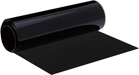 Foliatec 1025 Topstripe Blendstreifen Mit Effektivem Sonnenschutz Durch Tönung Maße 15 X 152 Cm Schwarz Auto