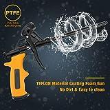 Foaming Gun, MANGZ Hand Foam Caulking Gun, PU