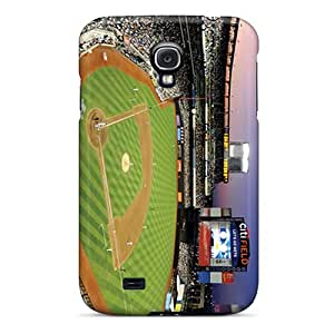 Protective Hard Phone Covers For Samsung Galaxy S4 With Unique Design Beautiful New York Mets Pictures KaraPerron