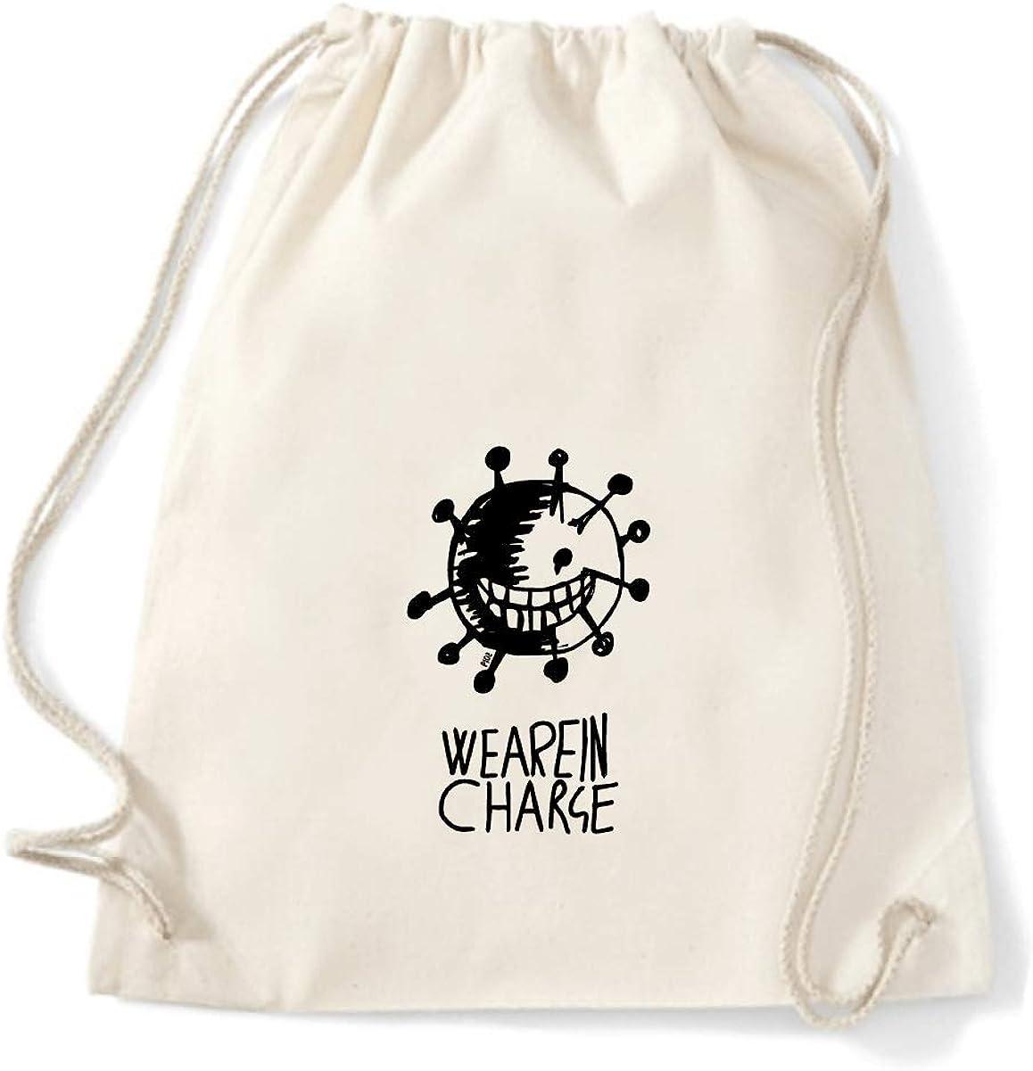 Art T-shirt, mochila bolsa We are Charge, bolsa Gym