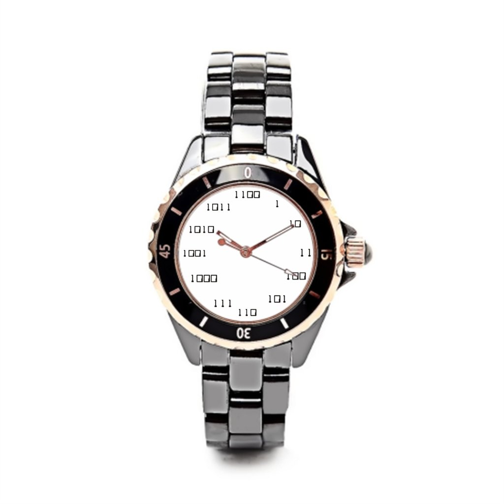 Queensland mujeres cerámica relojes binarios Código lujo relojes Marcas computadoras: Amazon.es: Relojes