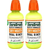 Beauty : TheraBreath Dry Mouth Dentist Formulated Oral Rinse - Tingling Mint Flavor, 16 Ounce (Pack of 2)