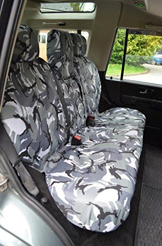 Tortuga cubre lrdi987sna Tailored impermeable lavable fundas para asientos delanteros y traseros de 7 plazas: Amazon.es: Coche y moto