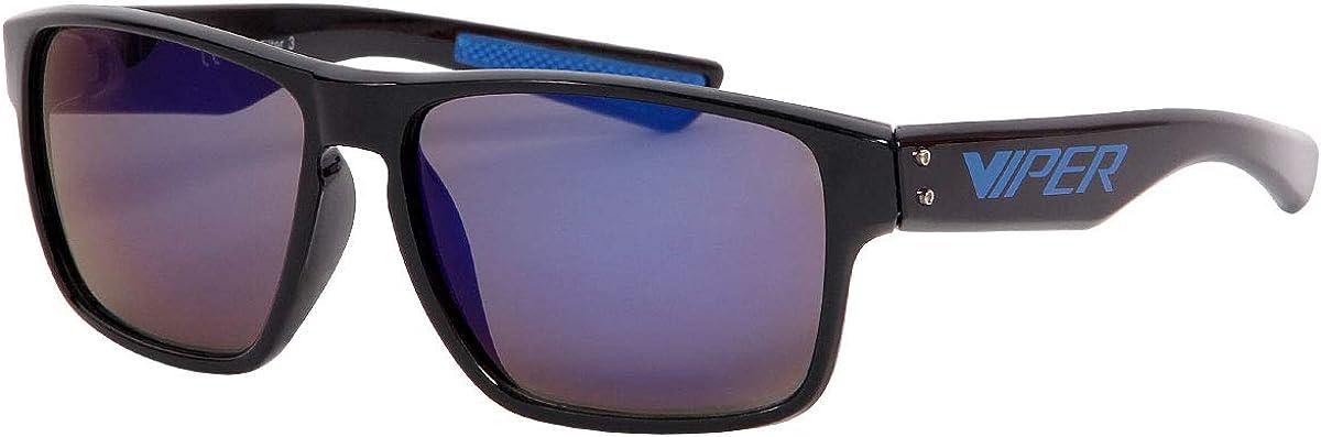 Sonnenbrille Brille Viper Verspiegelt Sunglasses Vintage Kunststoff V-1419