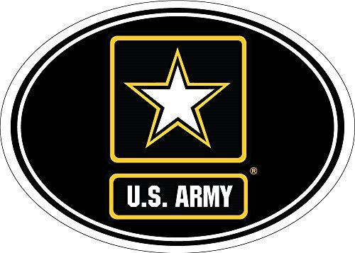 Freedom Army Star - Army Star Magnet For Car or Home 3-3/4 by 5-1/4 inches