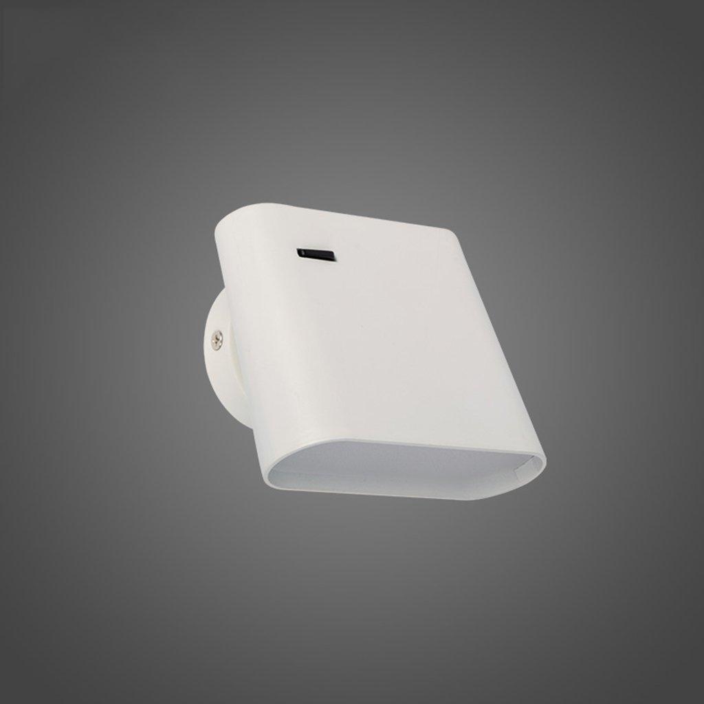 wandlampe Wandleuchte - einfache Mode Innenwandleuchte kreative Wohnzimmer Restaurant Studie Schlafzimmer Wandleuchte (12cm  9,5 cm) Schlafzimmerleuchten