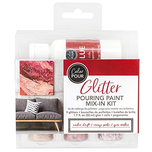 American Crafts 348482 Color Pour Mix-in Kit GlrAmber, None