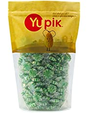 Yupik Candy Green Pinwheel Mints, 1Kg
