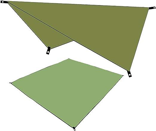 Waterproof Camping Tent Tarp Outdoor Awning Shade Sun Rain Shelter Mat Canopy,