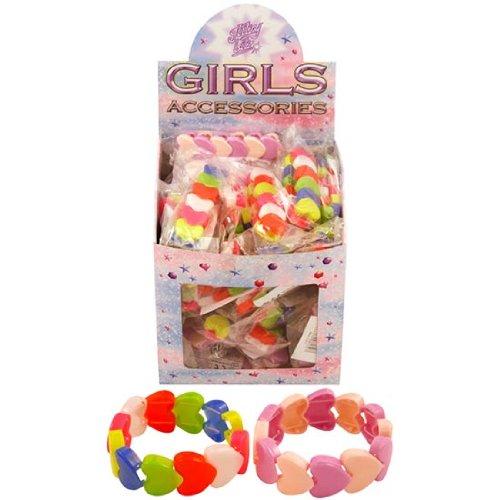 12 Herz Armband Mitgebseltüte Füller / Mädchen Spielzeug Kinder Kinder Ausgewählte Farben