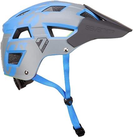 Amazon.com: 7iDP M5 - Casco metálico, color azul/gris L/XL ...