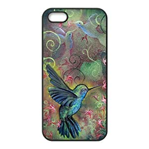 diy phone caseCaitin Charming Spring Hummingbird Cell Phone Cases Cover for ipod touch 5diy phone case